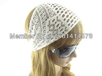 2 Assorted Colors Gril/Woman's Accessories hollow out Headwear Elastic Lace The wide Headbands