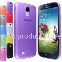 30pcs case For samsung galaxy s4 mini i9190 Phone cases matte shell 0.5mm case for Galaxy s4 mini Anti-skid design  case