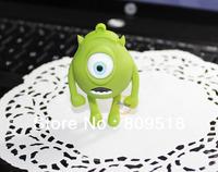 Single Big Eye Monster Cartoon USB 2.0 Memory Flash Thumb Stick 1GB 2GB 4GB 8GB 16GB 32GB for Choices.