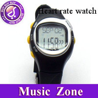 Xmas gift Free Shipping Calorie Heart Rate Watch Monitor Pulsometer Chronograph Heart Pulse Rate hot sale watch dropship