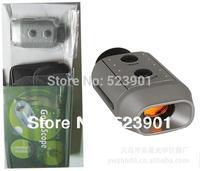 7X Digital Golf Range Finder Golfscope Scope Rangefinder Yards Measure Distance Meter Scope with Bag  Binoculars
