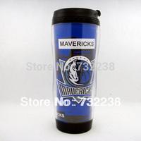 Basketball  Dallas Mavericks  fans Plastic Travel Mug  Snap Lid Coffee Mug Cup 12 OZ