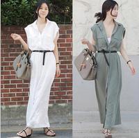 New Summer Fashion design Brand Women Two Piece Dress cheap clothes china Long White Maxi Dress Cardigan Vestido De Festa Longo