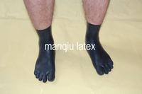 Latex  toe socks, Anatomically shaped,Fits great.