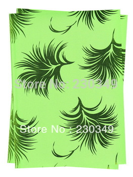 Free shipping African headtie,Head Gear, Sego Gele&Ipele,Head Tie & Wrapper, 2pcs/set,LEMON GREEN