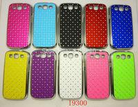 Free Shipping! High Quality Plating Bling Star Crystal Diamond Rhinestone Hard Cover Case for Samsung Galaxy S3 i9300, SAM-092