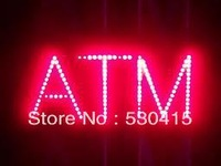 LED ATM SIGN ,Single Red Color