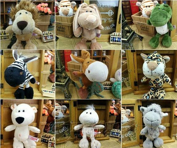 FREE SHIPPING Big Stuffed Animals/Sheep/Ass/Tiger/Lion/Tortoise/Hippo/Crocodile/Leopard/Zebra/Rabbit/Bear/Kids Toys/Gifts CL0089(China (Mainland))