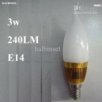 E14 Candle light bulb LED 3w 240LM Standard current value