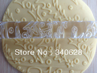 Factory Wholesale 10 PCS Five Star and Tree Shape rolling pin decor does not touch the flattening rod side stick--A159