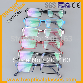 Free shipping high quality low price colorful children optical eyeglasses frame 5306 with spring hinge