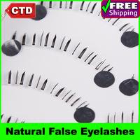 New 5 Pair X19 Black Color False Lower Under Bottom Eyelashes Eyelash Eye Lashes Handmade Natural False Eyelashes