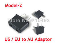 200pcs/Lot US EU to AU AUS AUSTRALIA Power Travel Plug Charger Converter Adapter Convertor High quality Express free shipping