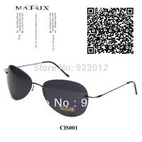 CSI001 Model CSI Miami Horatio Sunglasses Oval sunglasses Rimless frame sunglasses Matrix glasses Movie sunglasses mensunglasses