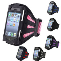 Free shippng & wholesale ! New Arrival & Fashion Sport Gym Running Armband Case Cover For  iPhone 4 4G 4S ipod Touch 4G