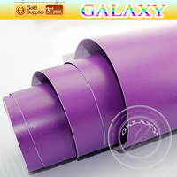1.52*30m Matte Purple vinyl car wrap  film/car body sticker /color change film with air drain Free shipping by Fedex