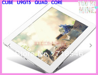 HOT sale 9.7'' Cube U9GT5 Retina 2048*1536 HD Screen RK3188 bluetooth wifi Quad Core 1.8Ghz FHD IPS 2GB RAM 16GB yk_tablet