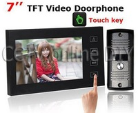 """2013 NEW  video door phone with 7"""" capacitive TFT screen  +FREE SHIPPING, THE BEST PRICE  !!!"""
