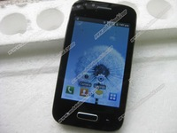 New 3.5 inch  i9500 mini S4 mini A7100 SP6820A 1GHZ  Capacitive Screen Android 4.1 2MP Camera Smart Phone Free Shipping