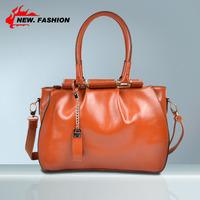 High Quality Vintage Designer Genuine Leather Women Handbag Shoulder Totes Messenger Bags Chain Tassel Bag 4 Colors A66