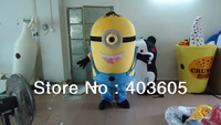 2013 Hot sales! high quality Despicable me Mascot Costume CustomizedEVA +fan Animal Fancy Dress Halloween Costumes Free shipping