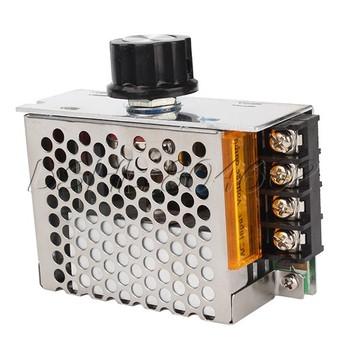 4000W 220V SCR Voltage Regulator Motor Speed Control Thermostat Dimmer