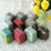 Free ship!20pc! Handbags tin / mini candy box / tin box / creative wedding Favor Boxes gift