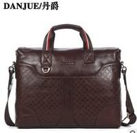 2014 New designer cowhide men handbag fashion men's shoulder bag business handbags for male computer messenger bags tote
