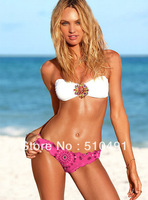 Women's Bikini rhinestone Swimsuit  Swimwear New Arrival Bikinis Strappy Sexy for Women Free shipping