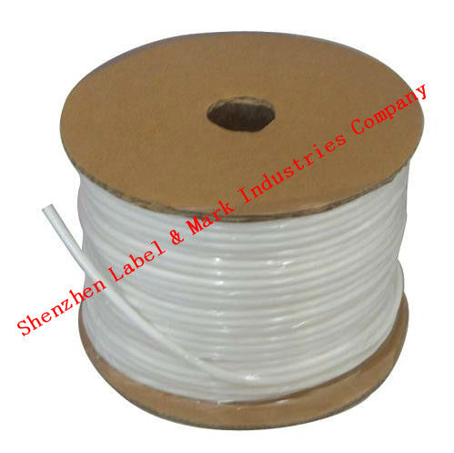 Free shipping PVC tube PVC sleeve for tube printer, wire marking machine ,cable ID printer, electronic lettering machine(China (Mainland))