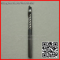 3.175*17 One Flute Sprial Bit /computer carving knife / engraving tools/CNC router bits/CNC cutting tools