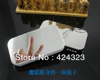 Free shipping mini portable speaker speaker read U disk mirror TF card computer FM UV mirror