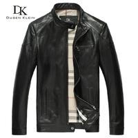 Sheepskin coats Mens leather jackets and coats High quality  coat Casual jacket Spring Genuine leather jacket free shipping 122