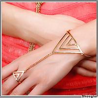 Vintage Chain Bracelet Gold Silver Finger Bracelets Bangles High quality 2014 Cheap Fashion Jewelry Free shipping