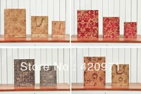 HOT sale Pro-environment Kraft paper gift bag /Festival gift bags /Portable shopping bag 50pcs/lot 15cm*19cm*6cm Free Shipping