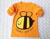 2014 new kids clothes 1~10 Age boys girls t shirt Multicolor optional Children clothing t shirts  children's t-shirt