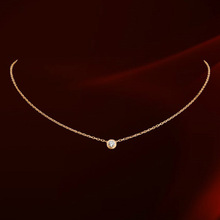 Beautiful collarbone chain,Free shipping Italina Fine Bone Snake Sexy Chain Dita August CZ diamond For women Necklace (N860552)(China (Mainland))