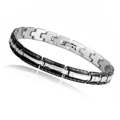 Fashion Charm Wrap Bracelets Wristband Men Jewelry 316L Stainless Steel Chain Link Bracelets & Bangles (JewelOra BA100934)(China (Mainland))