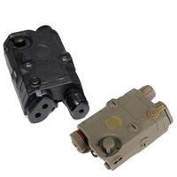 Tactical Laser look Airsoft AEG Battery Case Box Dummy  SOF LA-5 AN / PEQ 15  W/ 20mm weaver Picatinny rail Mount  BK DE