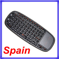 3 IN 1 IR Remote Spain Rii mini i10 RT-MWK10 2.4Ghz Fly Air Mouse Wireless Keyboard Combos Remote FOR Android mini PC TV Box