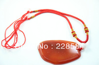 Minimum Order $ 8 (can be mixed batch), 50 * 70 * 6 Fashion red agate necklace, wholesale and retail Free shipping, 2013 new