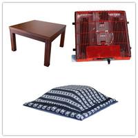 (4pcs/set) Free shipping Living Room Set Japanese Style Low Foot Warmer Kotatsu Blanket Table Futon Heater Home Luxury Furniture