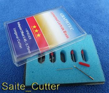 Free shipping 10 pcs  x 45 Degree HIGH QUALITY CB09 Graphtec Blade Cutting Plotter Vinyl Cutter