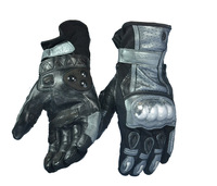 For Game birds / MC13 motorcycle gloves / leather gloves / titanium gloves / carbon fiber racing gloves