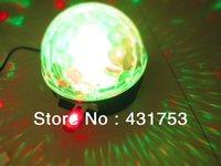 LED RGB  Crystal Magic Ball for USB can play music  LED Bulbs Lamp 18W(3*6W)  100V-260V/AC ( free shipping )