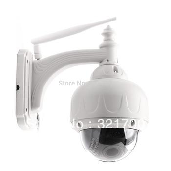 Cybernova CN-031H2R 3XZoom Outdoor waterproof PTZ HD 720P H.264 WIF IP Camera built in 8GB TFcard