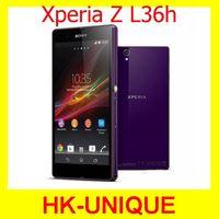 Sony Xperia Z L36h C6602 C6603 Original Unlocked Android phone 3G/4G Wifi GPS 13.1MP Camera Quad Core 16GB ROM Free Shipping