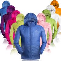 New 2014 outdoor sportswear for men brand casual dress men's clothing sweatshirt waterproof ultra-thin breathable anti-uv