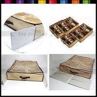 New Arrive: Foldable Storage Organizer Box Holder 12 Pairs for Shoe wholesale