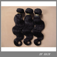 "DF Hair:12""-30"" Unprocessed Body Wave Hair 3pcs/lot,New Star Cheap100%Malaysia Virgin Human Hair Weft FREE SHIPPING,100g/pc T"
